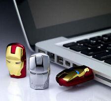 New 8GB IRON MAN USB 2.0 Flash Drive / Memory Stick With LED EYES - UK STOCK