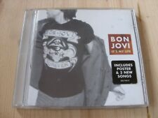 Bon Jovi:  It's My Life     NM CD single + poster