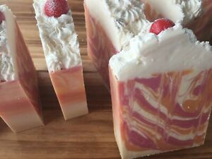 Handcrafted Vegan Cold Process Soap - Clearance - Choose One - FREE SHIPPING !
