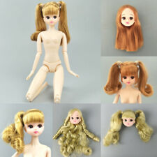 Moveable 12 Joints Naked Body For Licca Doll Body Heads for 1/6 BJD Doll Kid Toy