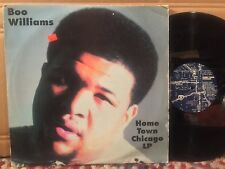Boo Williams Home Town Chicago 2 LP 1996 rare house electronic