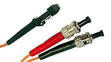 3m MTRJ (female) - ST Duplex 50/125um/1.6mm OM2 Multimode Patch Cord