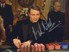 MADS MIKKELSEN LE CHIFFRE 007 JAMES BOND AUTHENTIC SIGNED AUTOGRAPH CASINOROYALE