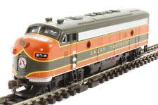 BACHMANN N SCALE , Santa Fe locomotive.