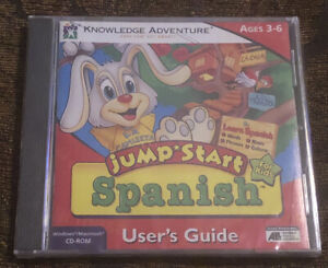 1997 Jump Start Spanish For Kids Windows,Macintosh- Age 3 To 6 Sealed New Learn