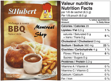 St. Hubert BBQ Sauce Mix, 52 Gram / 1.83 oz., Quick & Easy to Make, 1 Pack