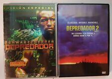 PELICULA DVD PACK DEPREDADOR 1+2