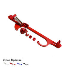 4150 4160 Aluminum Series Black Billet Throttle Cable Carb Bracket Red