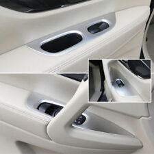 Chrome Door Armrest Cover Window Switch Panel Trim For Nissan Rogue 2014-2018