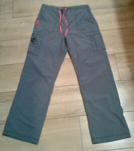 Misses Carhartt Force Scrub Bottoms  Size Large  Gray