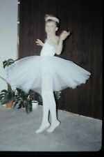 35mm slide - Vintage - Collectibles - Photo - cute girl dress smile ballerina