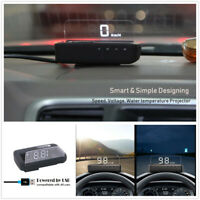 USB Connection Car GPS HUD Head Up Display Speedometer Projector OverSpeed Alarm