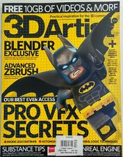 3D Artist UK Issue 104 Our Best Ever Access Pro VFX Secrets FREE SHIPPING sb