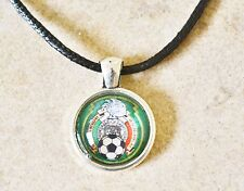 MEXICO Jersey Necklace, Seleccion Mexicana de Futbol Soccer World Cup Men Women