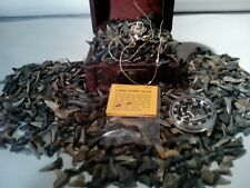 <50 PC. FOSSILIZED SHARK Teeth> MINT Zodiac COIN& Retro EAGLE Necklace FAST S&H