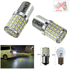 2Bulbs CREE 80W White LED Tail Reverse Lights 1156 P21W BMW 3 Series E30 E36 E46
