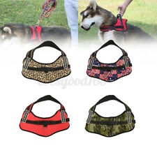 More details for no-pull pet dog harness adjustable walking strap vest padded handle chest belt