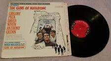 """The Guns of Navarone"" w/ Gregory Peck, Original Soundtrack, 12"" Vinyl Record LP"