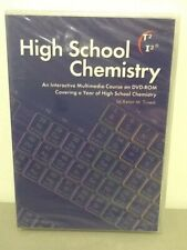 High School Chemistry, Interactive Course on Dvd-Rom, Kevin Trivedi, 11 Chapters