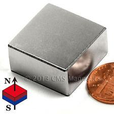 Strong N40 Neodymium Magnet Block 1 X 1 X 12 Ndfeb Rare Earth Magnet 3 Pc
