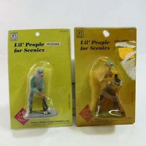 Lil' People for Scenics Aristo Craft Trains NEW Old Stock #1 Gauge Polk's Model