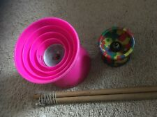 TWO Large and Small DIABOLO   Dube and Another brand JUGGLING /MAGIC /FUN!!!