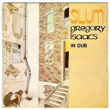 REVOLUTIONARIES & GREGORY ISAACS-slum in dub   burning sounds LP  (hear)  reggae