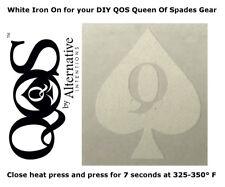 Queen of Spades Emblem Heat Transfer Iron On, Hotwife Cuckold Swinger Lifestyle