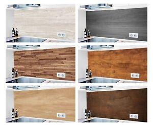 Küchenrückwand Holz ❌20% Rabatt❌ 1000 Motive Alu Spritzschutz Badrückwand