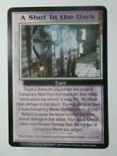 1999 Babylon 5 Ccg - Severed Dreams - Rare Card - A Shot In The Dark