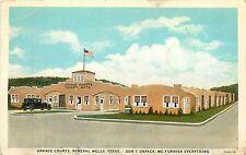 Texas, TX, Mineral Wells, Grande Courts Postcard