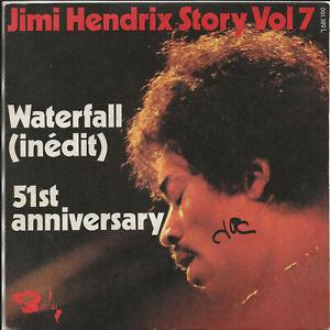 French EP 1966 JIMI HENDRIX  STORY Vol 7 waterfall /51st anniveersary