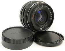 !NEW! MC HELIOS-81N H 2/50 Russian Soviet USSR Lens Nikon F mount D90 D7000 D750