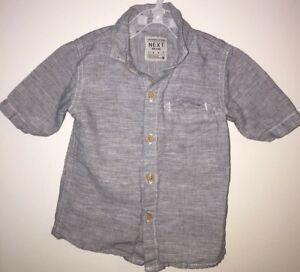 Boys Age 12-18 Months - Next Short Sleeved Summer Shirt