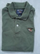 American Living Polo Shirt Boys Olive Green Large (16-18)