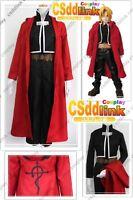 Fullmetal Alchemist Edward Elric Cosplay Costume outfit