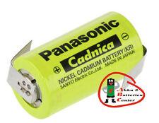 Panasonic  Sanyo  KR-1800SCE Cadnica   Sub- C 1.2V   1800mAh Ni-Cd mit Lötfahne
