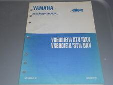 Yamaha Setup Assembly Manual 1995 VX500EV STV DXV VX600EV STV DXV Snowmobile