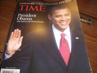 Time Inauguration Edition President Obama  529EL