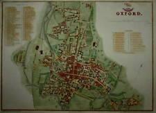 OXFORD PREPARED FOR THE DISPATCH ATLAS CIRCA 1860.