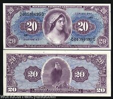 Usa United States 20 Dollars M90 1969 Military Payment Mpc 691 Un Issue Unc Note