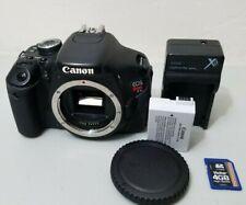 Canon EOS Rebel T3i 18.0MP Digital SLR DSLR Camera Body Fine Loose Rubber