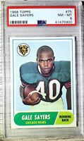 1968 Topps #75. Gale Sayers. PSA 8. (POP 167) HOC85🔥