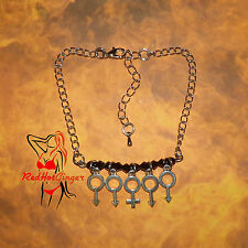 Gangbang Anklet Hotwife Jewellery Queen Of Spades BBC Tart Swingers FREE UK P&P