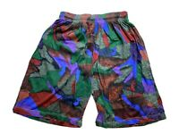 Vintage Street Wear Mens Board Shorts Size XL Beach 90s Bright Loud Surfing