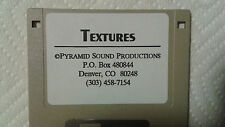 Kurzweil ~ TEXTURES ~ 1 Disk of 100 Krz / V.A.S.T. Programs!!!
