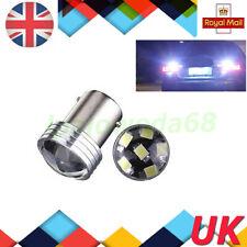 2x 1156 6 LED BA15S P21W 2835 COB 12V Bombilla de cola de giro de reversa para Automóvil Blanco Reino Unido