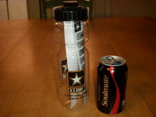 U.S. ARMY, PLASTIC SIPPER BOTTLE WITH PLASTIC LID, [ BPA FREE ] Vintage