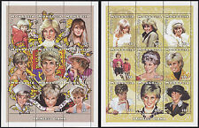 BLOC MONGOLIE N°2140A/2140T** BF Lady Diana 1997 MONGOLIA Mi 2714-2731 Sheet MNH