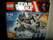 Lego Star Wars First Order Snowspeeder 8-14 Jahre Nr. 75100 OVP